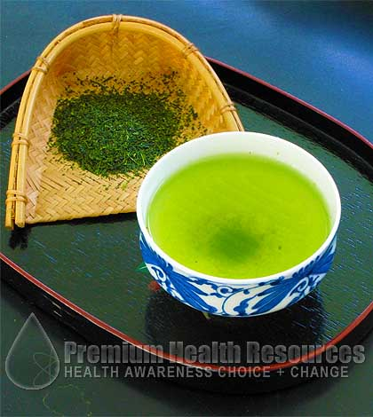 Green Tea Relieves Stress